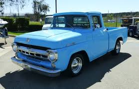 1957 ford f100 custom short bed pick up