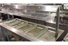 steam table with sneeze guard 5 well 72 electric steam table with sneeze guard