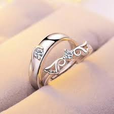 stainless steel wedding ring sets stainless steel wedding ring for rings set men women