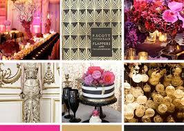 glamorous deco wedding invitation zenadia design
