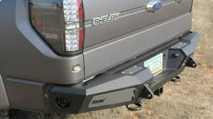 2002 toyota tacoma rear bumper replacement f150 series honeybadger rear bumper w backup sensors tow hooks