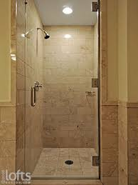 Shower Stall With Door Tile Showers With Glass Doors Shower Ideas