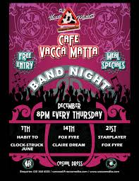 pink martini poster flyer vacca matta 01 jpg
