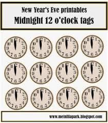 new year goodie bag new year s countdown goodie bags free printable nye and clocks