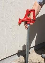 How To Drill A Water Well In Your Backyard How To Install A Yard Water Hydrant