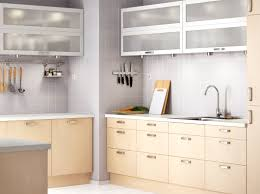 faktum kitchen with nexus birch veneer doors drawers and värde