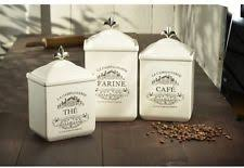 canister set for kitchen earthenware kitchen canister sets ebay