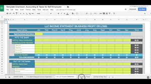 Free Simple Bookkeeping Spreadsheet Accounting Software For Self Employed Individual Wolfskinmall