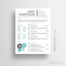 our new professional resume template cover letter for word