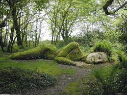 goddess at the lost gardens of heligan picture
