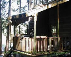 romantic mountain tree house private tub treehouses for