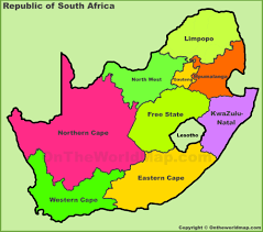 a picture of south africa map south africa maps maps of republic of south africa