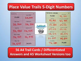 ks2 place value 5 digits by fullshelf teaching resources tes