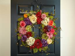spring wreaths for front door wreaths 30 u0027 u0027 summer