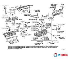 2005 toyota engine 2005 toyota camry exploded engine diagram swengines engine