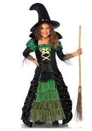 Skeleton Halloween Costume Kids Storybook Witch Child Costume