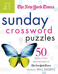 the new york times sunday crossword puzzles volume 41 50 sunday