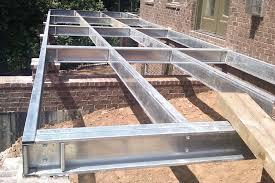 Residential Steel Beam Span Table by Litesteel Technologies Galvanized Steel Beams Professional Deck