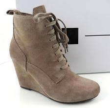 womens wedge boots size 9 dolce vita wedge booties lace up boots for ebay