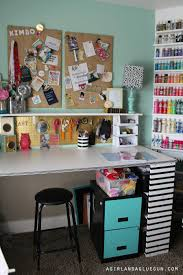 Pictures Of Craft Rooms - craft room tour a and a glue gun