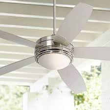 brushed nickel outdoor ceiling fan with light 60 casa province brush nickel outdoor ceiling fan outdoor ceiling