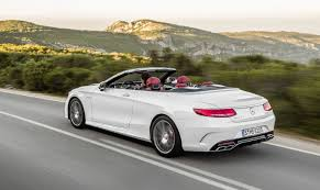 mercedes amg s500 2017 mercedes s500 s63 amg cabriolet rear view auto price