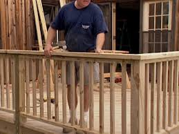 Installing A Banister Patio Deck Railing Design How To Install Deck Railing In 5 Easy