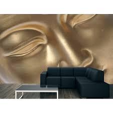 golden buddha face vinyl wall mural decal sticker art graphics golden buddha face vinyl wall mural decal sticker art graphics wallpaper decor sup face