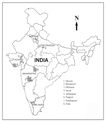 free printable coloring outline map of india for children 58 for