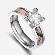 Pink Camo Wedding Rings by Camo Wedding Rings With Real Diamonds Elegant Best Camo Wedding