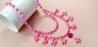 make pearl necklace images Free diy tutorial on how to make a double stranded pearl necklace jpg
