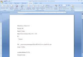 cara membuat mail merge di word 2013 membuat mail merge pada word office 2007 dengan database di excel
