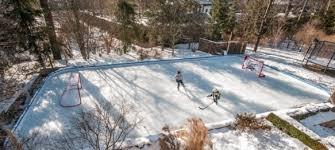 ice rink back yard ice rink