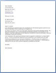 download dental hygiene cover letter samples