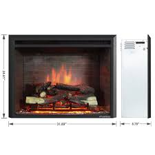 home decor creative 36 inch electric fireplace insert design