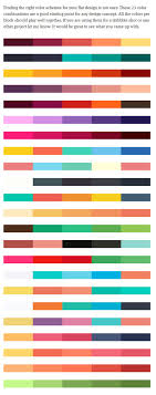 colors combinations color combinations for designers with design photo oepsym com