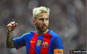 Lionel Messi Leg Image Lionel Messi Unveils Leg In