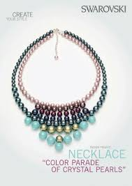 tutorial pearl necklace images Swarvoski pearl statement bib necklace tutorial the beading JPG