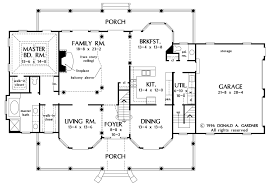 two floor plans country style house plan 4 beds 3 5 baths 3163 sq ft plan 929