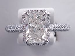 radiant cut engagement ring ctw radiant cut diamond wedding ring set includes a matching