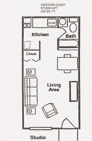 Small Studio Apartment Floor Plans Studio Apartment Garage - Studio apartment layout design