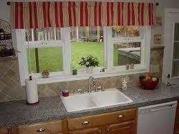 Kitchen Curtain Design Wonderful Kitchen Small Bay Window Curtains Cozy Up A Inside Decor