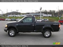 2000 ford f150 4x4 black 2000 ford f150 xl regular cab 4x4 medium graphite
