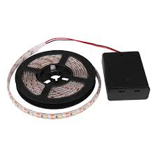 led battery operated strip lights amazon com led strip lights powstro battery operated waterproof