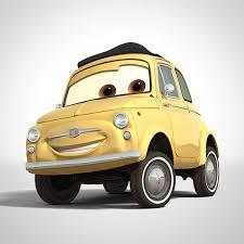 cars characters yellow luigi characters disney cars