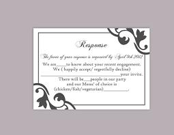 free wedding rsvp template free printable wedding rsvp card templates diy wedding rsvp