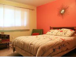 mid century modern bedroom colors