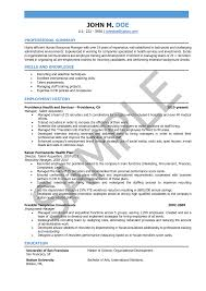 Sample Human Resources Manager Resume by Hr Manager Resume Samples And Writing Guide 10 Examples