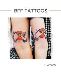 33 best friend tattoos matching tattoo ideas for your bff