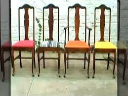 Vintage Dining Room Sets Furniture Reupholster Dining Room Chairs New How To Re Upholster